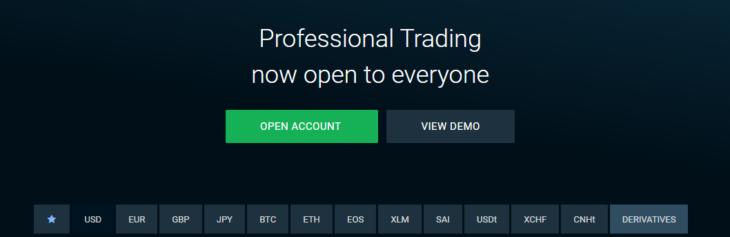 Bitfinex intro