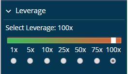 100x Leverage